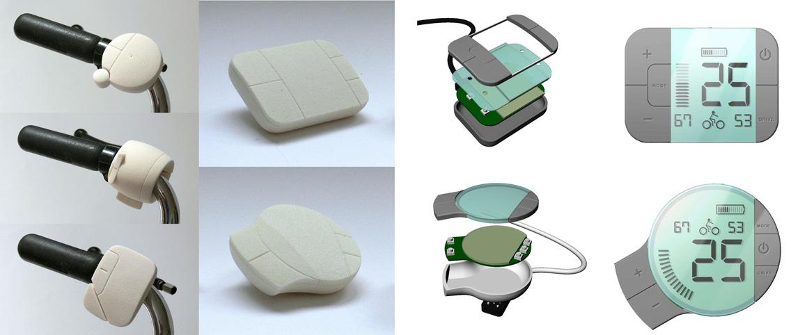 Cortina   E-bike controller   ontwerpproces