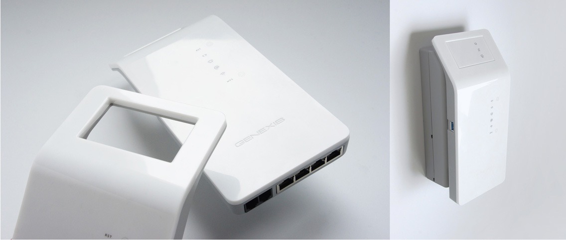 Genexis   Hybrid modulair glasvezel modem