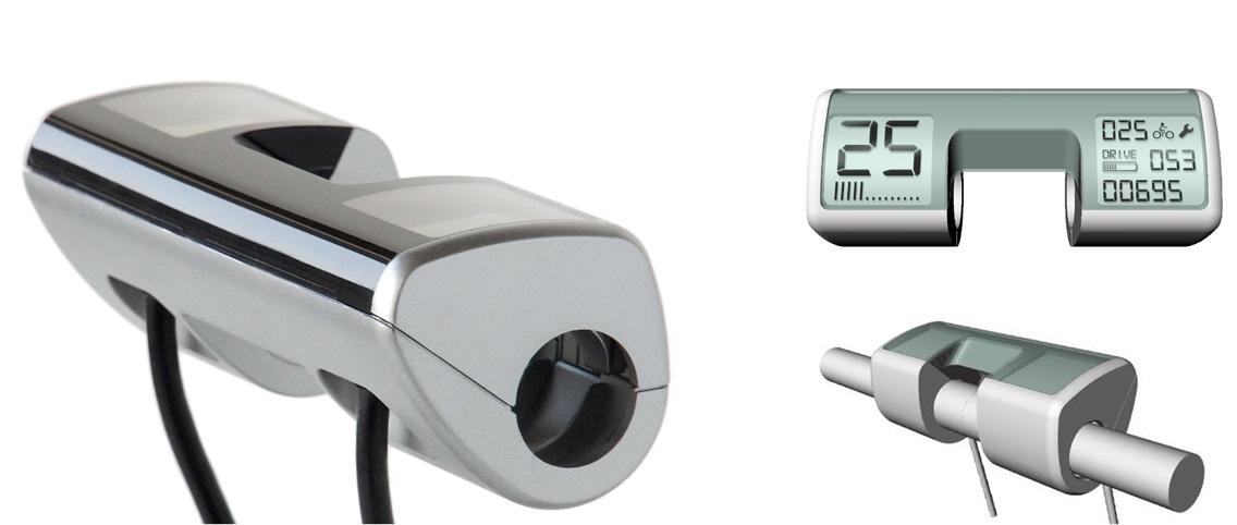 Cortina   E-bike controller met dubbel display