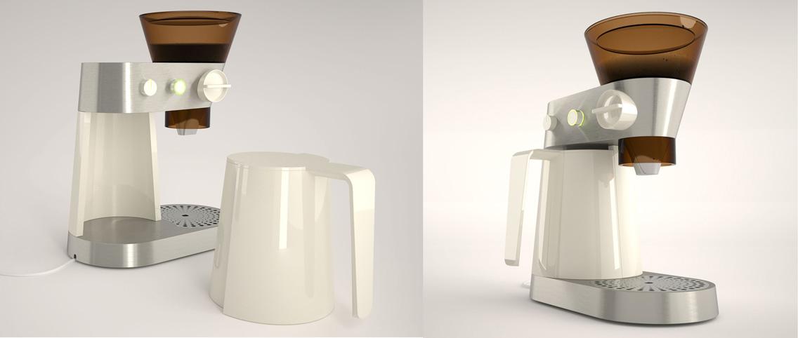 Koffiezetter concept